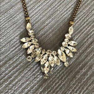 J. Crew megawatt sparkle necklace!